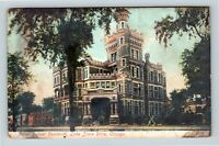 Chicago IL, Potter Palmer Residence, Lake Shore, Vintage Illinois Postcard