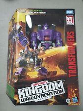 Transformers Kingdom War For Cybertron Trilogy Ultra Galvatron Leader Class