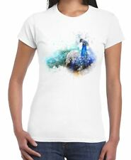 Peacock Bird Animal Design Drawing Women's T Shirt