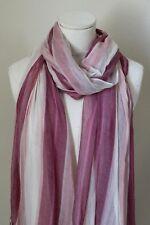 NORDSTROM Modal Silk Cross-Dye Scarf Wrap Sift Soft white Lightweight NEW $89