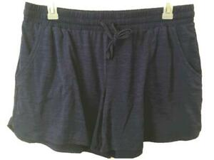 "St Johns Bay shorts size XL blue elastic waist 2 pockets 5"" inseam pull on"