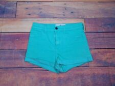 "Hollister Women's Green Shorts Size 7 28"" W x 2.5"" L 11.5"" Outseam"