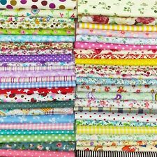 200 Lot Quilting Fabric Colors Cotton Sewing Supplies Patchwork 4X4