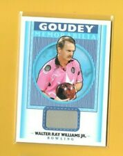 D16708 2019 Goodwin Champions Goudey Memorabilia #GMWW Walter Ray Williams Jr.