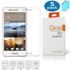 5x Nacodex For HTC Desire 728 HD Premium Tempered Glass Screen Protector