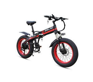 """PhazedE SMLRO E-Bike EFT 20 4.0 Fat Tyre 20"""" Folding 48V 12ah 750W PRE-SELLING"""