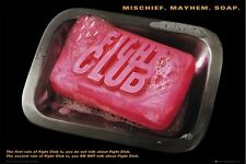 FIGHT CLUB MOVIE POSTER (61x91cm) SOAP PITT NORTON PICTURE PRINT NEW ART
