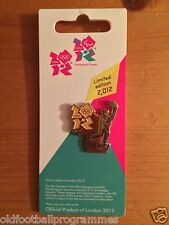 LONDON 2012 OLYMPICS TORCH RELAY (NEWRY) PIN BADGE (05.06.2012)