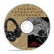 CLASSIC HORROR STORIES, READ ON CLASSIC AUDIOBOOK LITERATURE MP3 CD-A09