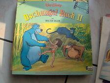 LP  IN TEDESCO JUNGLE BOOK 2 DSCHUNGELBUCH 2 DISNEYLAND 1979 G/FOLD + BOOKLET