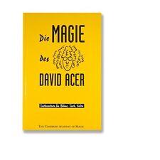 Die Magie des David Acer |  Zaubern - Buch (80640)