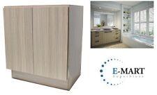 "27"" European Style Bathroom Vanity / Plywood Door Cabinet - Birch Wood pattern"