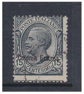 Eritrea - 1920, 15c Slate stamp - F/U - SG 41