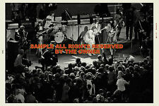 THE ROLLING STONES 1970 TOUR  PHOTO w. MICK TAYLOR AMAZING FULL STAGE 8x12