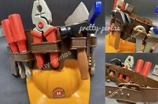New Tools Set Belt Toys Kids Play Pretend Xmas Gift Hat Construction Costume