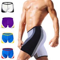 Men Swimwears Summer Cool Beach Wear Boardshorts Swimming Boxer Trunks Suit