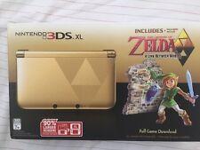 Nintendo 3DS XL Legend of Zelda A Link Between Worlds Limited Edition NEW