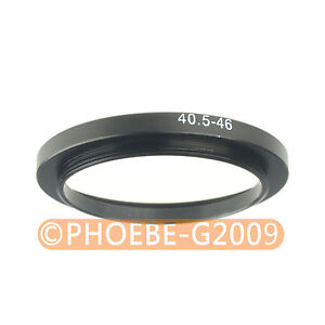 40.5mm to 46mm 40.5-46 mm Step Up Filter Ring  Adapter