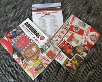 Arsenal v Nottingham Forest Carabao Cup 3rd Round Programme+LINEUP 24/9/19!