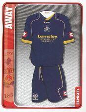 005 AWAY KIT ENGLAND BARNSLEY.FC STICKER FL CHAMPIONSHIP 2010 PANINI