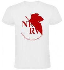 Camiseta Evangelion Nerv logo hombre, tallas y colores