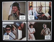 THE EVIL THAT MEN DO 1984 Original lobby card set Charles Bronson hitman