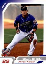 2012 Akron Aeros Grandstand #8 Chun Chen Hulian County Taiwan Baseball Card