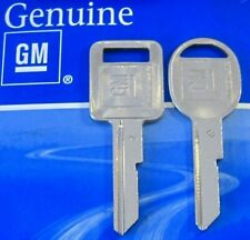 Genuine GM KEY SET 1967 1971 1975 79 A/B Chevy Cadillac Oldsmobile Pontiac Buick