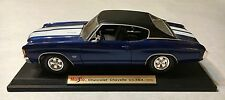 1/18 Maisto 1972 Chevrolet Chevelle SS454 Diecast Car