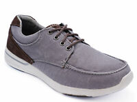 MENS SKECHERS ELENT ARVEN LACE-UP MEMORY FOAM CASUAL LOAFERS DECK SHOES UK 7-13