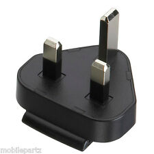 Genuine Blackberry Three Pin UK Power Clip/Adaptor for BlackBerry Mains Charger