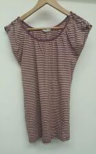 Editions Purple Stripey Top Size 12 <J2413