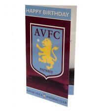 Aston Villa F.C - Birthday Card