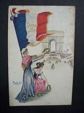 """CPA  - Illustrateur : Xavier SAGER  - série 134  """" Jour de Triomphe """"  CP 712"""
