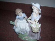 LLADRO DAISA COLLECTION GIRLFRIENDS #6949 GIRLS WITH FLOWERS