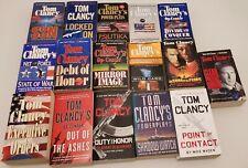 Lot Of 16 TOM CLANCY RANDOM Mix Paperback Intelligence Action Spy Thrillers