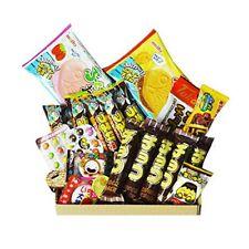 Chocolate Dagashi Box 20pcs Umaibo Snack w/ AKIBA KING Sticker Japanese candy