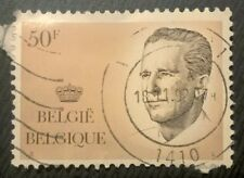Belgium stamps - King Baudouin 50 f - FREE P & P