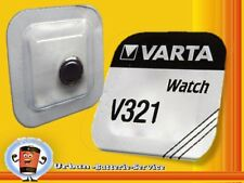 100x Varta V321 SR616SW SR616 SR63 1,55v Pilas de botón Relojes Baterías