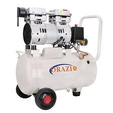 241184 ORAZIOⓇ  Low Noise Oilless Silent 24L Air Compressor 750W Garage Clinic