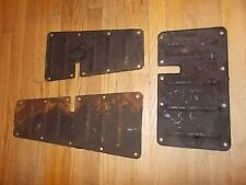LANCIA Flaminia 2.8 / 3B Coupe Used Original LOT of SHIELD PANELS under Motor