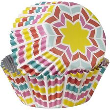 Wilton 36 Pk ColorCup HERRINGBONE Cupcakes Muffins Baking Party Decorating Cases