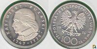 POLONIA - POLSKA. 100 ZLOTYCH DE 1976. PLATA 0.625. (2)