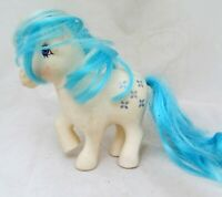 VTG My Little Pony Figure G1 Majesty Generation 1 White Unicorn Blue Hair 1983