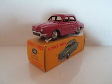 FRENCH DINKY 24E 524 RENAULT DAUPHINE NO WINDOWS MIB 9 EN BOITE  L@@K