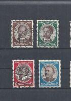 Deutsches Reich,1934 Michelnummer: 540 - 543 o, gestempelt o, Michelwert € 38,00