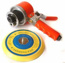 Professional Air D.A. Sander with 6'' Rubber Pad