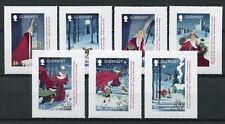 Guernsey 2017 MNH Christmas Good King Wenceslas 7v S/A Set Seasonal Stamps