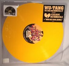 "LP WU-TANG CLAN The Saga Instrumental EP (12"" YELLOW VINYL, RSD 2018) NEW MINT"