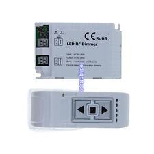 LED RF Dimmer High Voltage 90-240V 1 Channel Trailing Edge Dimming 3 Keys Remote